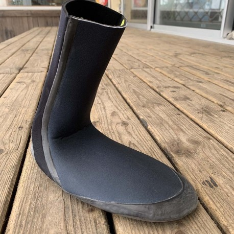 chaussons surf roxy syncro round toe boot 5mm blk