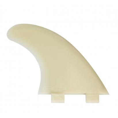 derives surf fcs M5 Natural Glass Flex Tri Fin Set