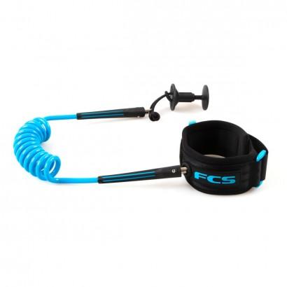 leash FCS Bodyboard Wrist Leash Black/Blue