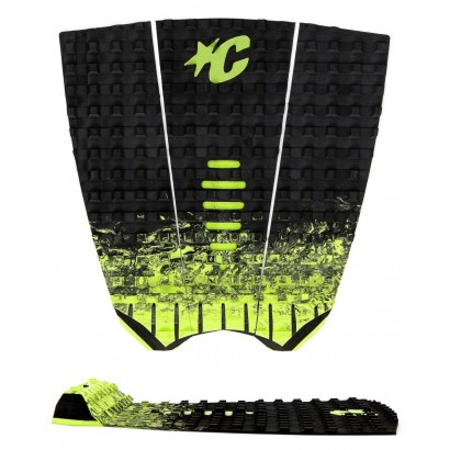 pad creatures MICK FANNING BLACK FADE LIME