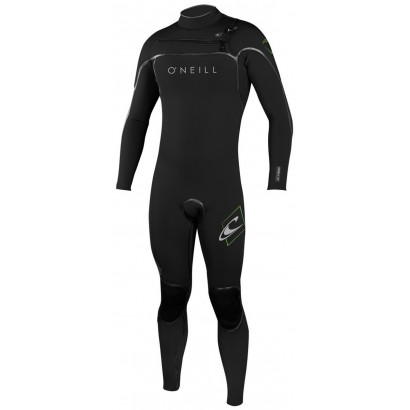Oneill Psycho one 4/3 Zip arriere - Combinaison surf hiver