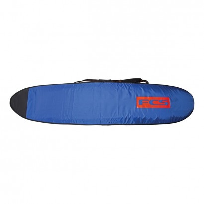"housse surf 9'2"" Classic Long Board Steel Blue/White"