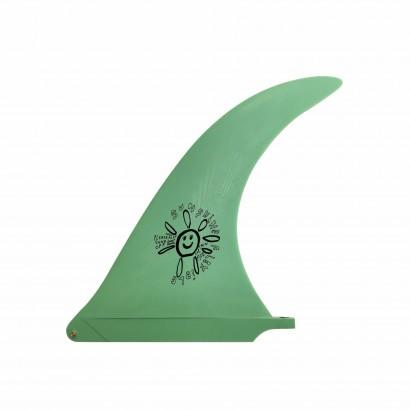 derive surf captain fin Alex Knost Sunshine 10 Green single fin
