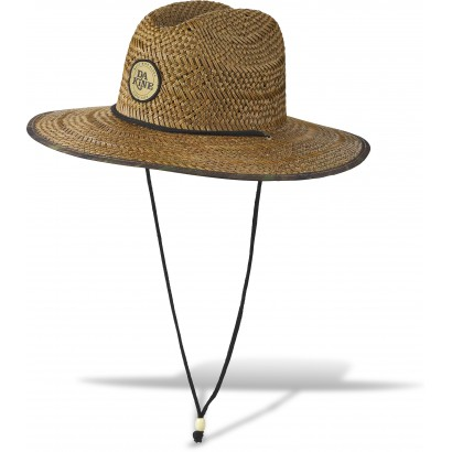 chapeau paille dakine pindo straw hat aloha camo L XL