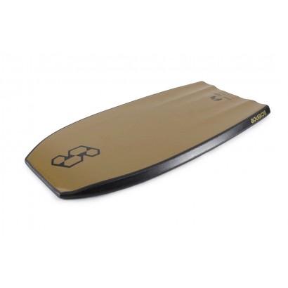 bodyboard 42 science tanner ltd tri quad f7 black metallic gold