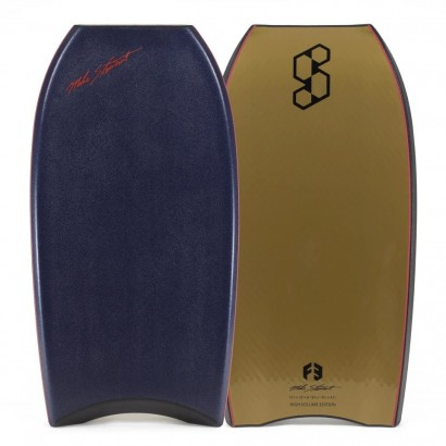 bodyboard 41 5 science style loaded pp high volume midnight blue metallic gold f3