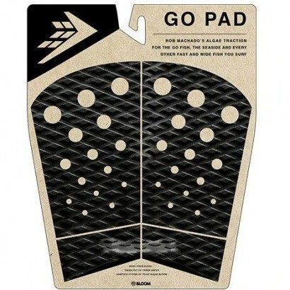 pad surf firewire 4 piece go pad traction black charcoal