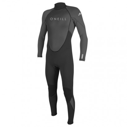 oneill reactor 2 3 2mm black zip arriere - combi surf integrale