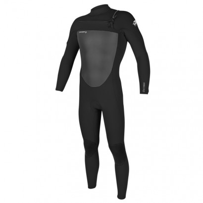 oneill epic 3/2mm black zip avant - combi surf integrale