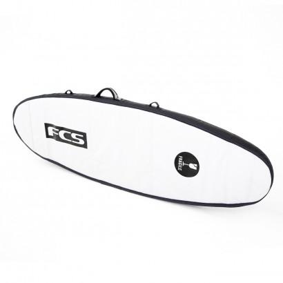 """housse surf fcs Travel 2 Fun Board 6'7"""" Black/Grey"""