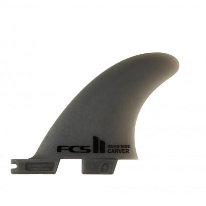 derives surf FCS II Carver NG Smoke Small Side Byte Retail Fins