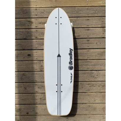 surf skate quiksilver christian bradley pour carver