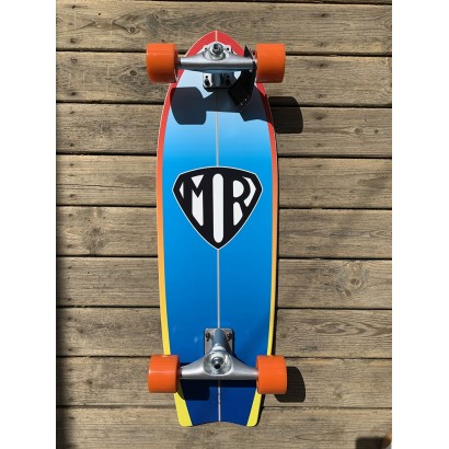 surf skate quiksilver mr super mark richards pour carver