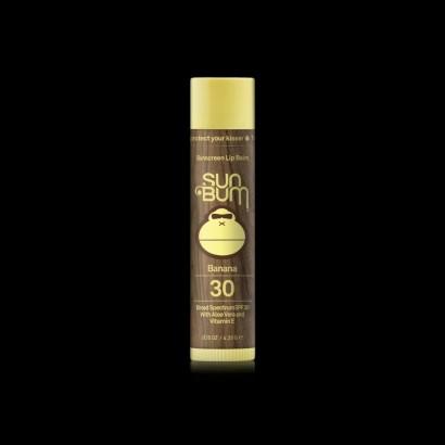 stick levres sun bum original spf 30 sunscreen lip balm banana