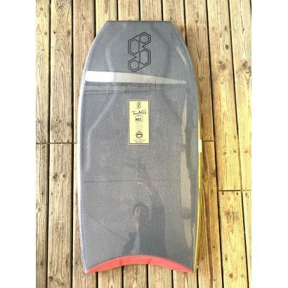 bodyboard 41 science tanner ltd tri quad f7 black metallic gold