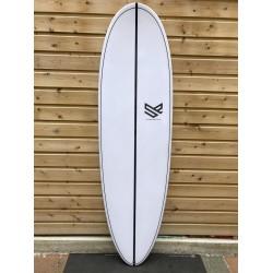 surf rocket mountain 7'0 epoxy carbon dérives inclus
