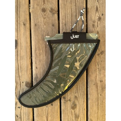 derive surf just 9 derive single longboard fiber green