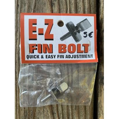 vis surf single fin longboard E-Z fin bolt