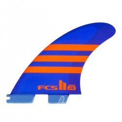 FCS II JW PC Medium Blue Orange Tri Retail Fins