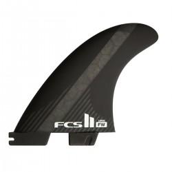 FCS II FW PC Carbon Black Large Tri Fins