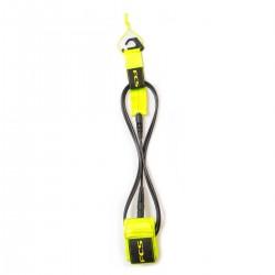 leash surf FCS 6' Reg Essential Leash Fluro Green