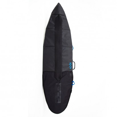 "housse surf Day Fun Board 6'3"" Black"
