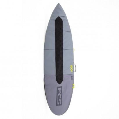 "housse surf Day Fun Board 5'6"" Cool Grey"