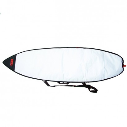 "housse surf 7'6"" Classic Fun Board Steel Blue/White"