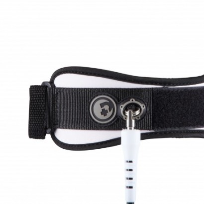 pride PIERRE-LOUIS COSTES BICEPS LEASH white bodyboard