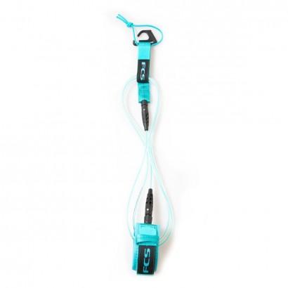 leash surf FCS 6' Comp Essential Blue