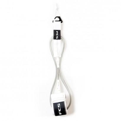 leash surf FCS 7' Reg Essential Leash White