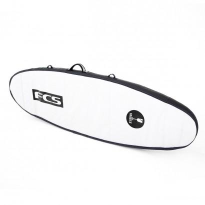 "housse surf Travel 2 Fun Board 7'0"" Black/Grey"