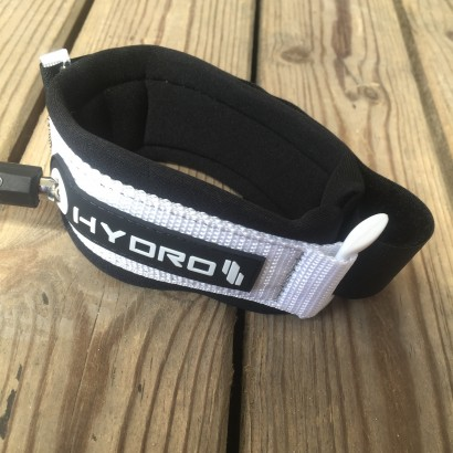 leash bodyboard bicep Hydro Black/White