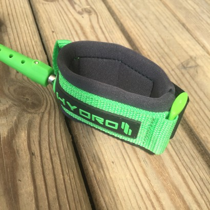 leash bodyboard wrist Hydro Charocal/Green