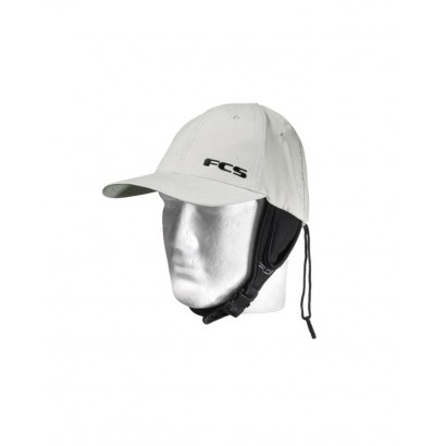 casquette surf fcs wet baseball cap grey