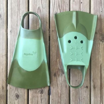 palmes bodyboard hydro fin green olive
