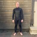 oneill psycho tech 4 3mm plus blk blk combinaison surf hiver