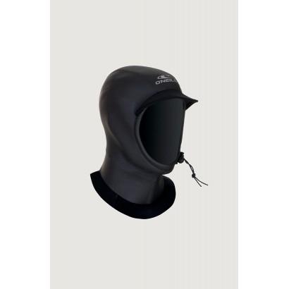 oneill cagoule surf 3mm ultraseal hood blk