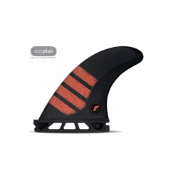 futures fins f4 alpha thruster series s carbon red