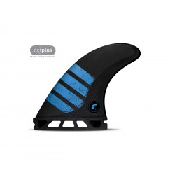 futures fins f6 alpha thruster series m carbon red