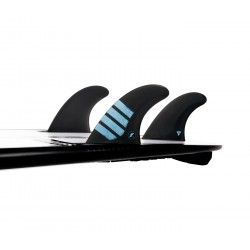 futures fins f8 alpha thruster series l carbon red