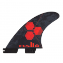 fcs II am pc small red tri fins