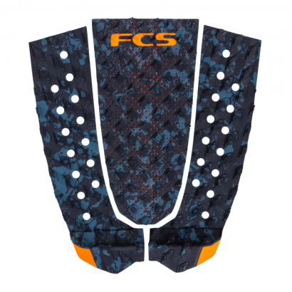 pad surf fcs t3 blue fleck orange