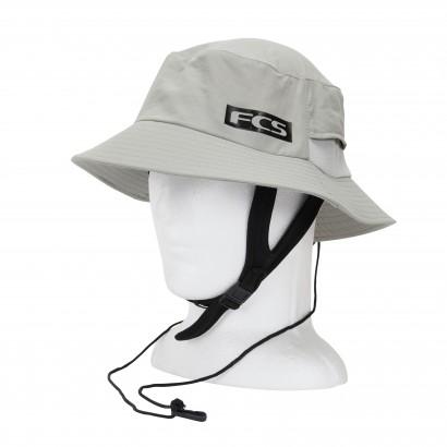 chapeau surf fcs essential surf bucket hat light grey